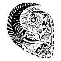 Polynesian Art Designs Hawaiian Tribal Art Designs Polynesian Design By Jeraud92140