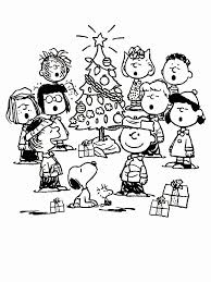charlie brown christmas coloring pages free kids coloring
