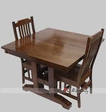 indian wood dining table folding wooden dining table set with two chairs portable indian