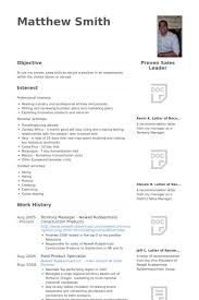 Territory Sales Manager Resume Sample by Territory Manager Resume Samples Visualcv Resume Samples Database