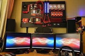 Top 10 Best Gaming Setups Ever Faqingames Gaming by Wall Mounted Tower With Water Cooling That U0027s Dope Battle