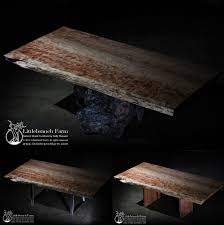 natural wood dining room tables rustic table live edge table wood table littlebranch farm