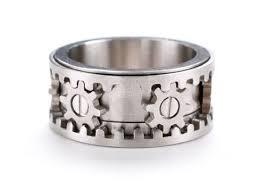 gear wedding ring gear ring by kinekt design design milk