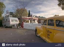 Classic Motel Usa Arizona Bisbee Shady Dell Motel All Vintage Car Trailer