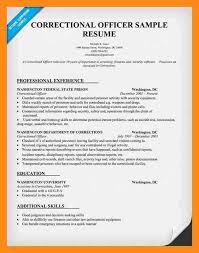 Security Job Resume Objective Correction Officer Resume 9 Correctional Officer Job Description