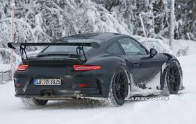 new porsche 911 gt3 rs new porsche 911 gt3 rs spied dancing in the snow