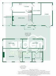 Conservatory Floor Plans 4 Bedroom Detached Cottage Viney Woodside Viney Hill 415 000
