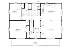 Cabin Floorplan by Mountaineer Deluxe Cozy Cabins Llc