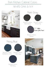 best blue for kitchen cabinets the best navy blue and dark gray benjamin moore colors for kitchen