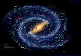 Map Of Universe Warhammer 40000 Liber Astartes Galaxy Star Map Midnight Equinox
