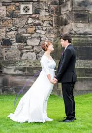 Wedding Dresses Edinburgh Intimate U0026 Romantic Wedding At Edinburgh Castle