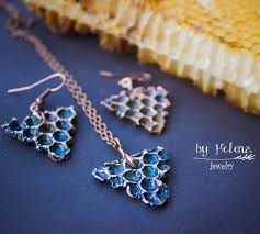 electroforming copper copper set copper jewelry electroformed jewelry honeycomb