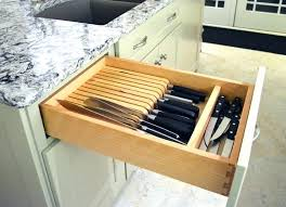 best way to store kitchen knives drawer knife storage kitchen knives storage kitchen kitchen knife