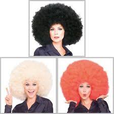 afro disco costume wigs hair ebay