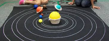make your own solar system mat let it be montessori