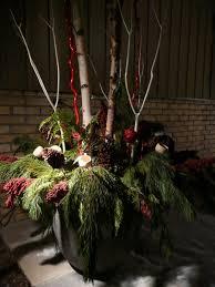 10 best winter pots images on pinterest christmas ideas