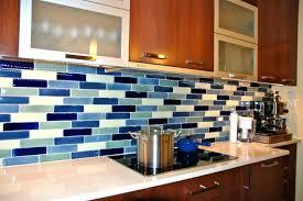 Brown Gray Metal Slate Backsplash by Blue Tile Kitchen Backsplash Glass And Metal Tile Stainless Steel