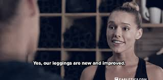 target black friday woman commercials fabletics takes a big swipe at lululemon with a bleep filled