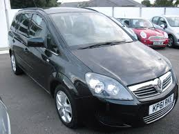 used vauxhall zafira black for sale motors co uk