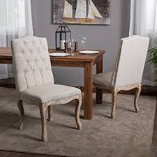 linen dining chair beige linen dining chair set of 2 chairs