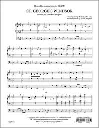 thanksgiving hymns berghout daniel st george u0027s windsor come ye thankful people