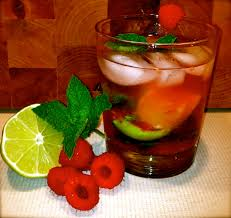 raspberry mojito recipe beverages archives u2022 la vitamina tla vitamina t