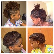 6 cute hairstyles for a braid out short hair natural hair