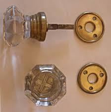 Vintage Glass Door Knobs by The Brass Knob Architectural Antiquesthe Brass Knob