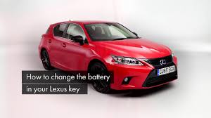 lexus wallet key card how to replace the battery in your lexus key fob youtube