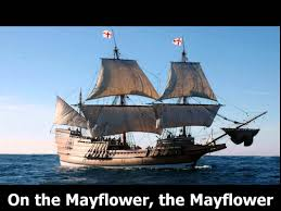 mayflower thanksgiving song with text karaoke