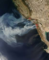 Los Angeles Fires Map by Nasa Nasa Images Of California Wildfires
