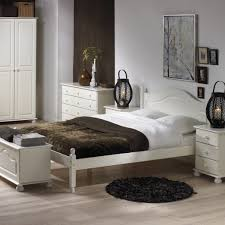 Bedrooms Direct Furniture by Richmond White Double Bed 4ft6 Bedroom Furniture Direct Intended