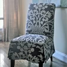 decorating outstanding parsons chair slipcovers for dining room