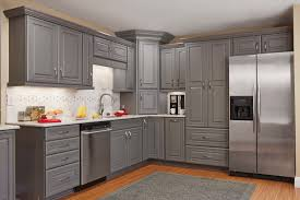 stacked kitchen cabinets the highly detailed jamison door style painted in flint marries