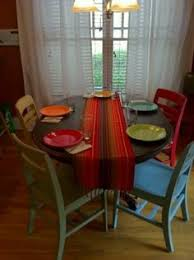 Painted Kitchen Table And Chairs by Updated Painted Kitchen Table Paint 25 Each And The Little