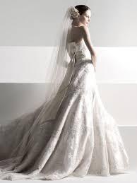 oleg cassini wedding dresses oleg cassini all ivory chagne lace a line gown with sash