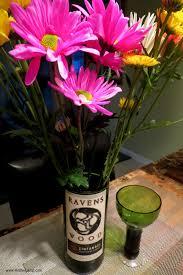 Wine Glass Flower Vase New Glass Bottle Cutting Method How To Make A Bottle Lamp