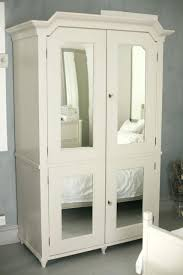 Armoire With Glass Doors White Armoire Closet U2013 Blackcrow Us
