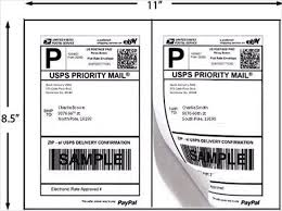 20 shipping label templates u2013 free sample example format