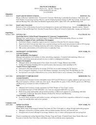 Mba Resume Template Harvard Harvard Business Resume Best Resume Collection