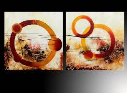 imagenes abstractas con circulos oleo abstracto circulos