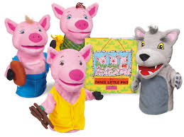 pigs storytelling puppet lakeshore learning