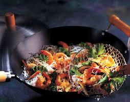 recette cuisine asiatique recette vermicelle de riz sauté aux crevettes