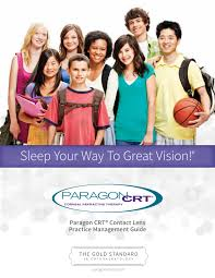 paragon crt contact lens practice management guide by paragon