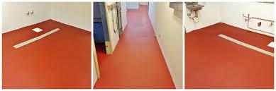 Commercial Kitchen Flooring Options New Ucrete Floor Install For Commercial Kitchen