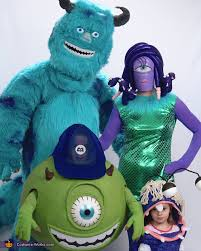 Monsters Inc Costumes Monsters Inc Family Costume Photo 2 8