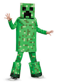 minecraft costume minecraft creeper prestige costume for boys