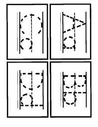 printable alphabet letter cards traceable letter cards free printable kids pinterest free