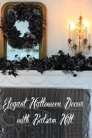 elegant halloween decor with balsam hill french country cottage