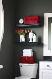 bathroom captivating red and white bathroom accessories ideas